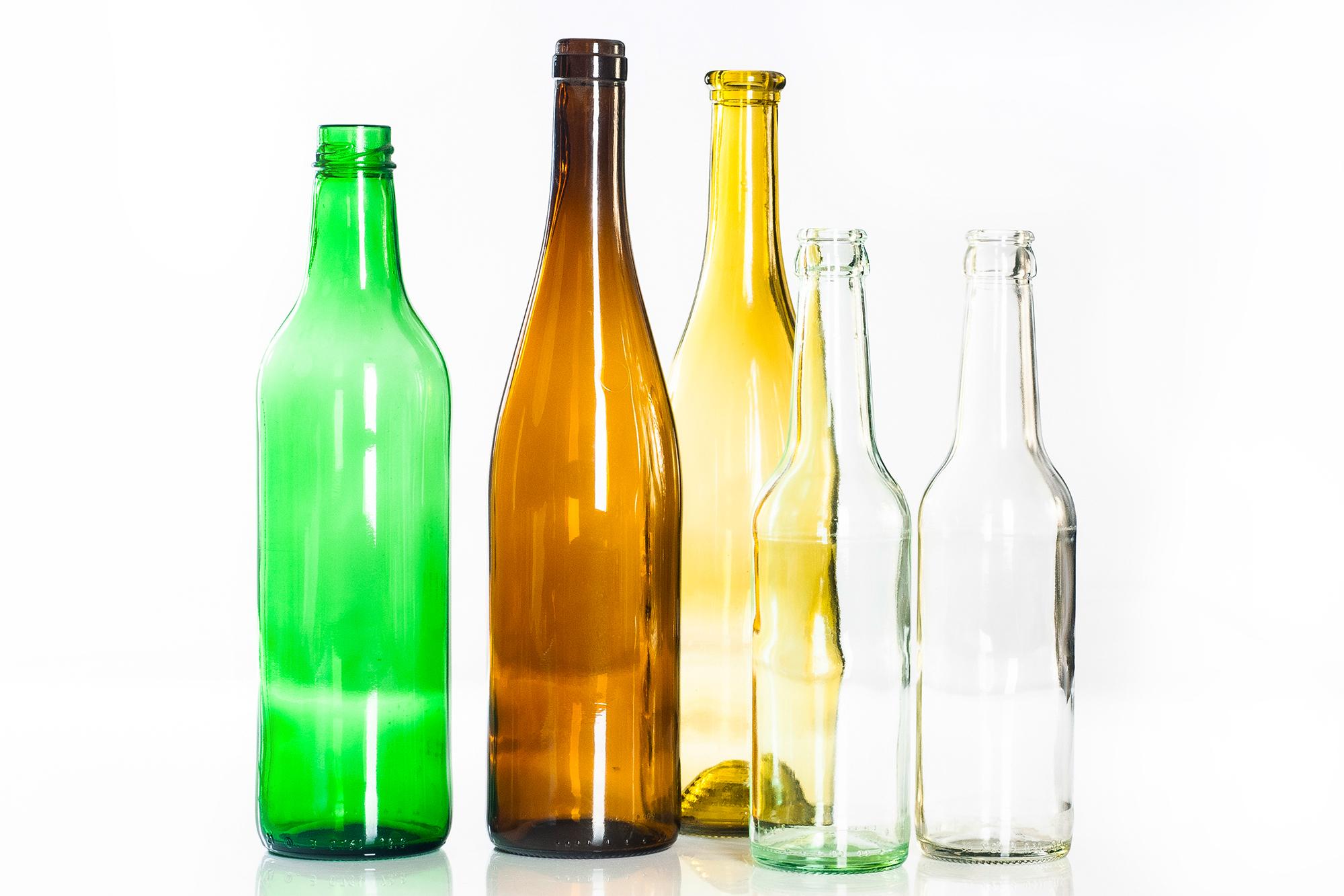 Verfügbare Flaschen